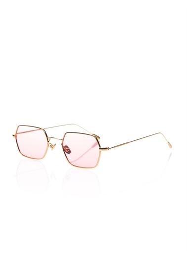 Optoline Opc 17015 05 Kare  Gövde Polarize Cam Kadın Güneş Gözlüğü Pembe